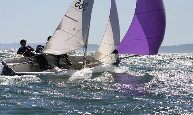 Sailing landscape