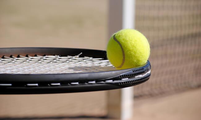 Tennis landscape