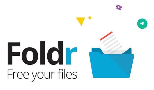 Foldr landscape