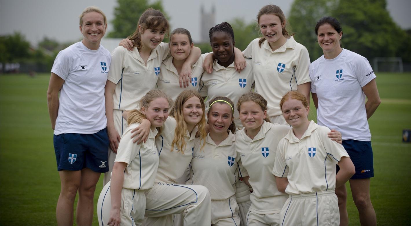 Girls Cricket