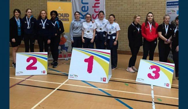 Kent School Games Indoor Rowing