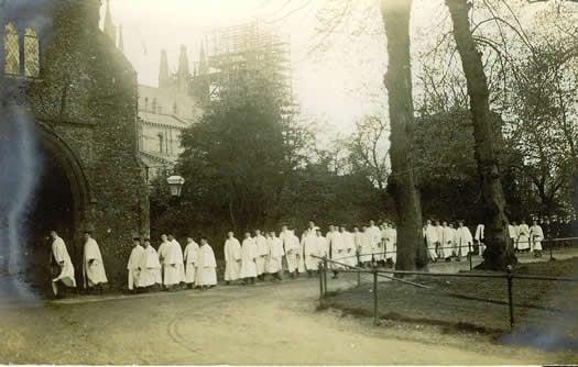 King's Scholars 1910