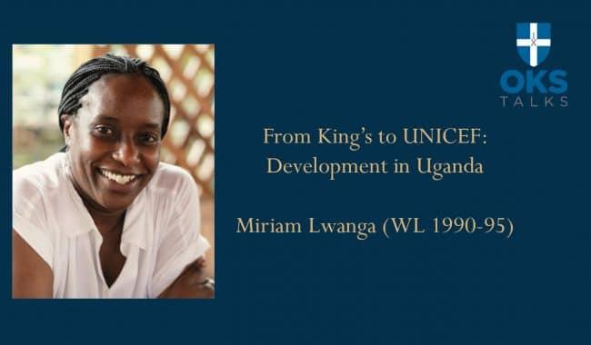 Miriam Lwanga King's Talk