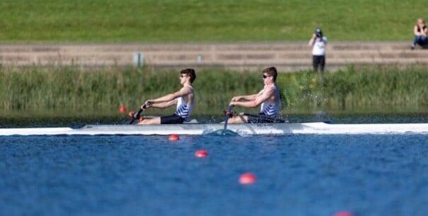 School Rowing Pair